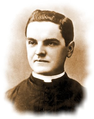 The founder of the Knights of Columbus, Fr. McGivney.