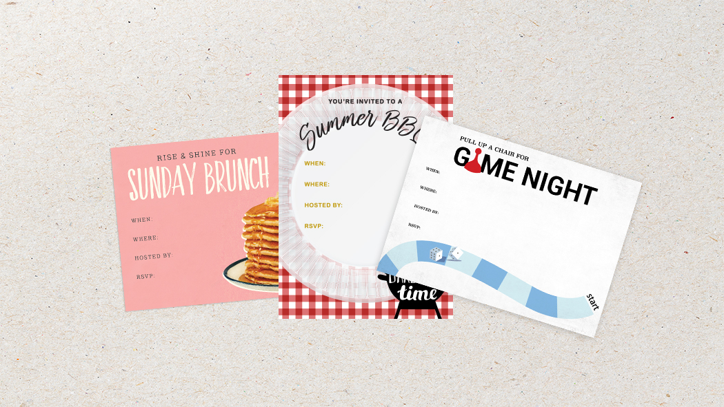 Ready to throw that summer party and looking for editable party invitations? Look no further! Choose from these three!