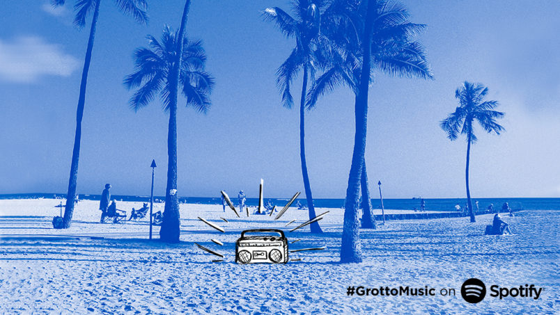 Celebrate the first day of summer with this GrottoMusic Summer Spotify Playlist!