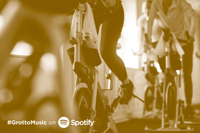 Listen to this workout Spotify playlist to get your workout on!