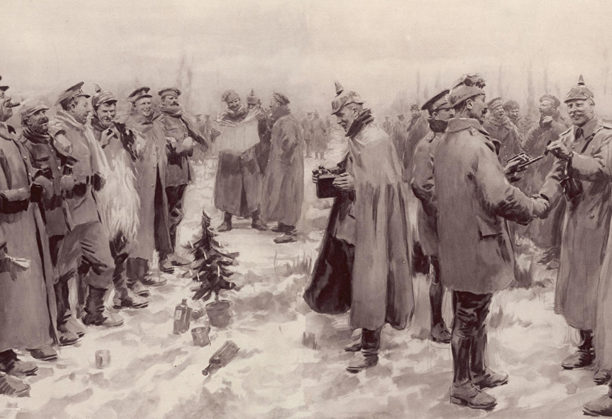 "Read the inspiring story of WWI's Christmas truce, which will change the way you listen to ""Snoopy's Christmas."""