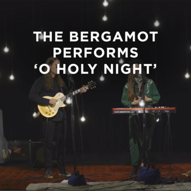 The Bergamot sings 'O Holy Night' in this music video